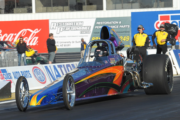 Jeff Connelly Super Comp Dragster