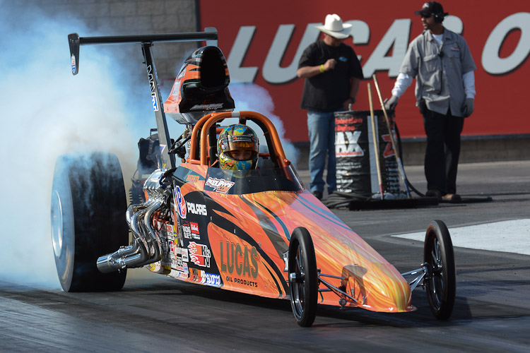 Andrew Madrid Super Comp Dragster