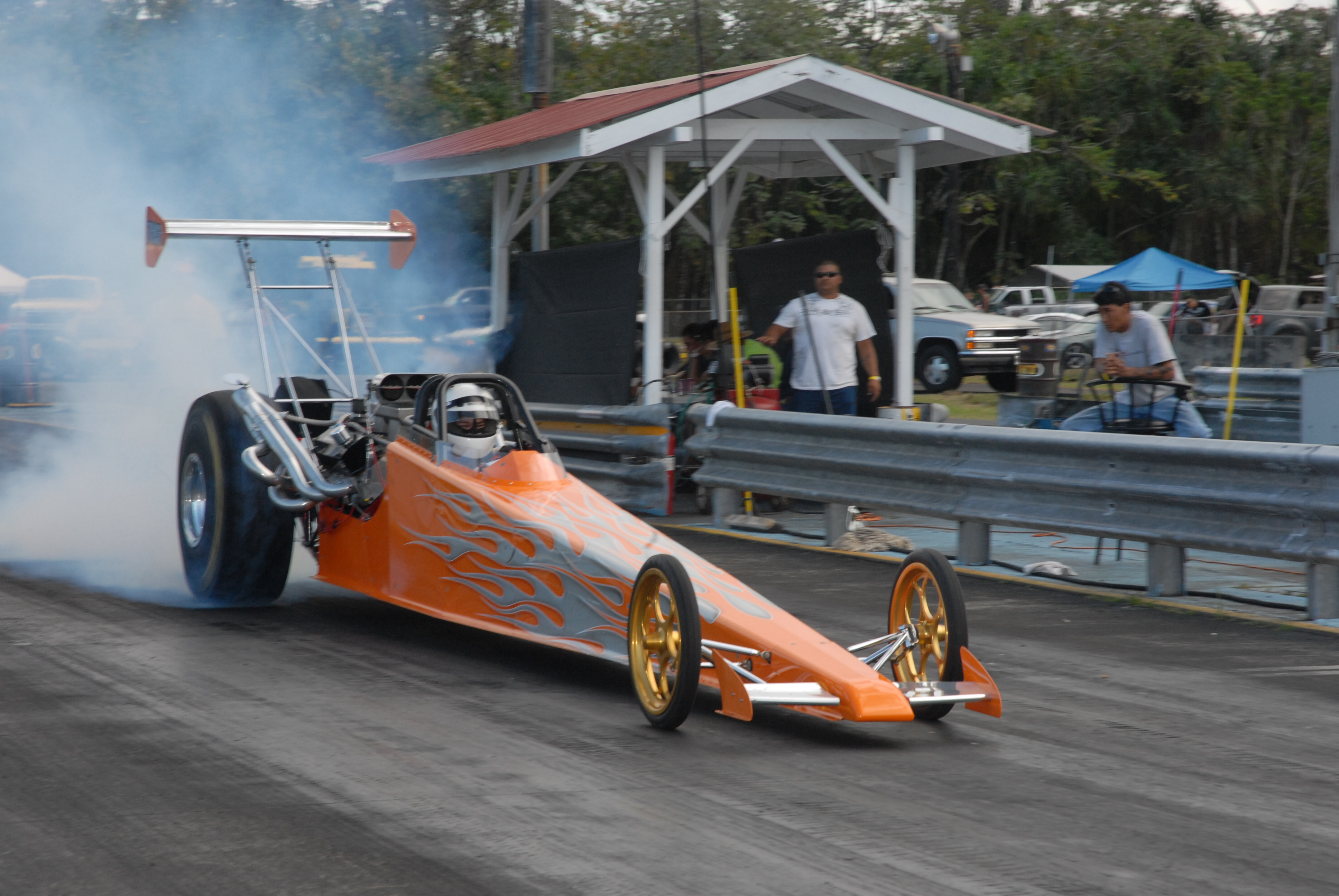 Paul Crivello Top Comp Dragster Hawaii